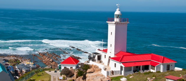 The Coastal Town Of Mossel Bay In The Western Cape, Garden Route, South Africa