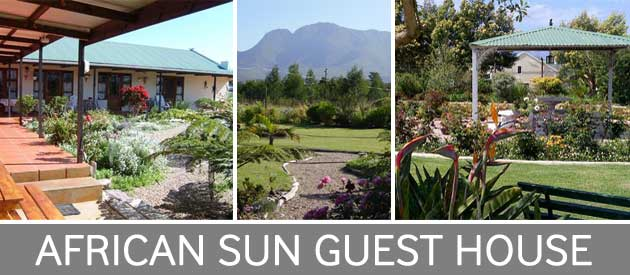 african sun guest house, george self catering, wedding venue mountains, george function venue, outeniqua mountains george, george accommodation