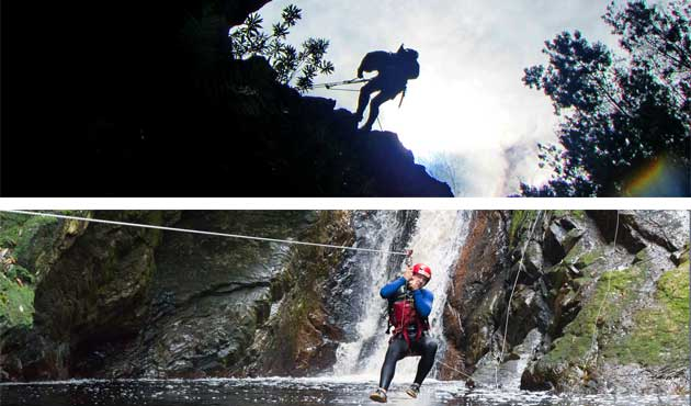 kloofing-plett, canyoning, river-adventures-plett, plett-adventures, plett-river-trips, plett-activities, abseil-in-plett, abseiling-the-crags