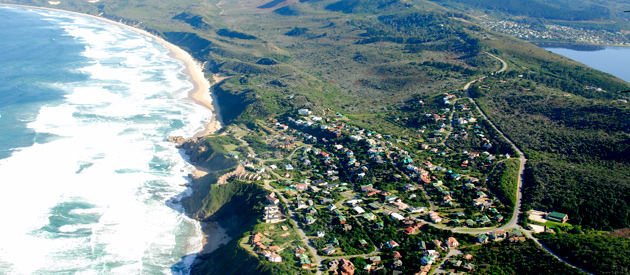 Brenton-On-Sea, in the Western Cape, South Africa