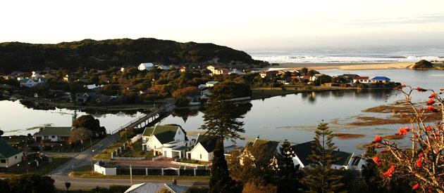 Great Brak River, on the Southern coast of the Western Cape in South Africa