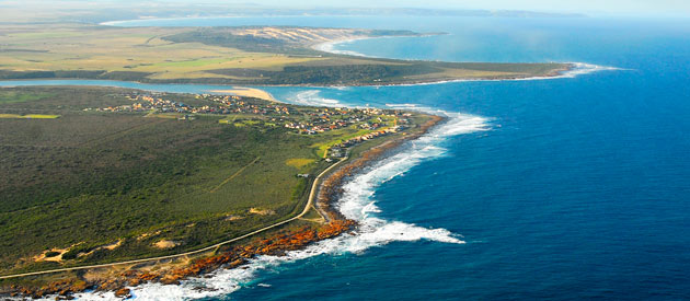 Gouritsmond, a quiet seaside village situated at the mouth of the Gourits River on the Garden Route of the Western Cape province of South Africa