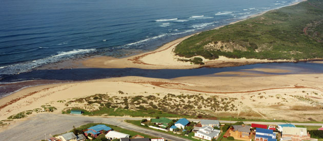Little Brak River, in the Western Cape, South Africa