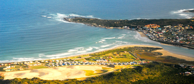 Still Bay, situated on the coast of the Western Cape province of South Africa.